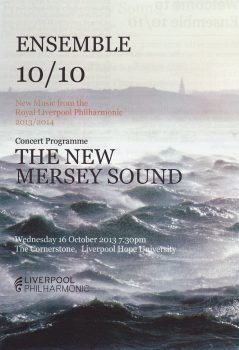 Ensemble 10/10 programme cover
