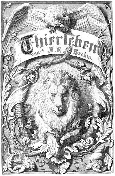 Thierleben frontispiece