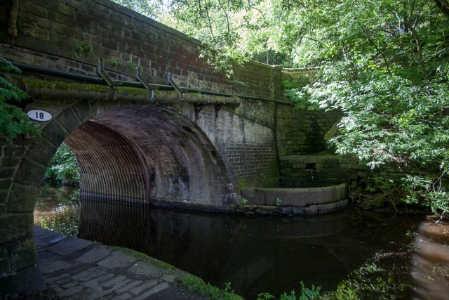 Bridge 18, Rochdale Canal, Hebden Bridge