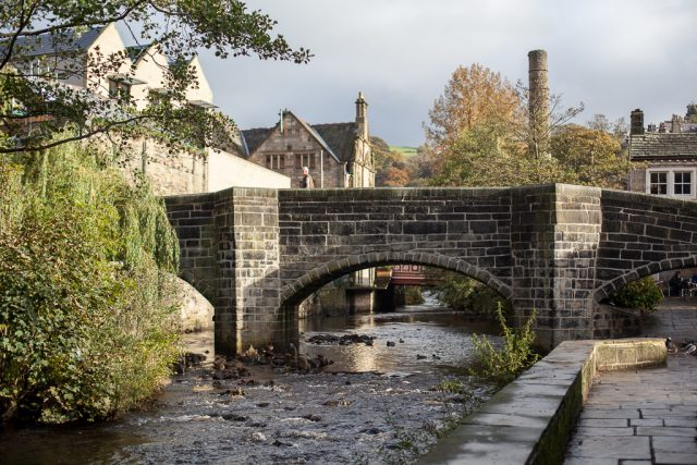 Packhorse bridge, Hebden Bridge