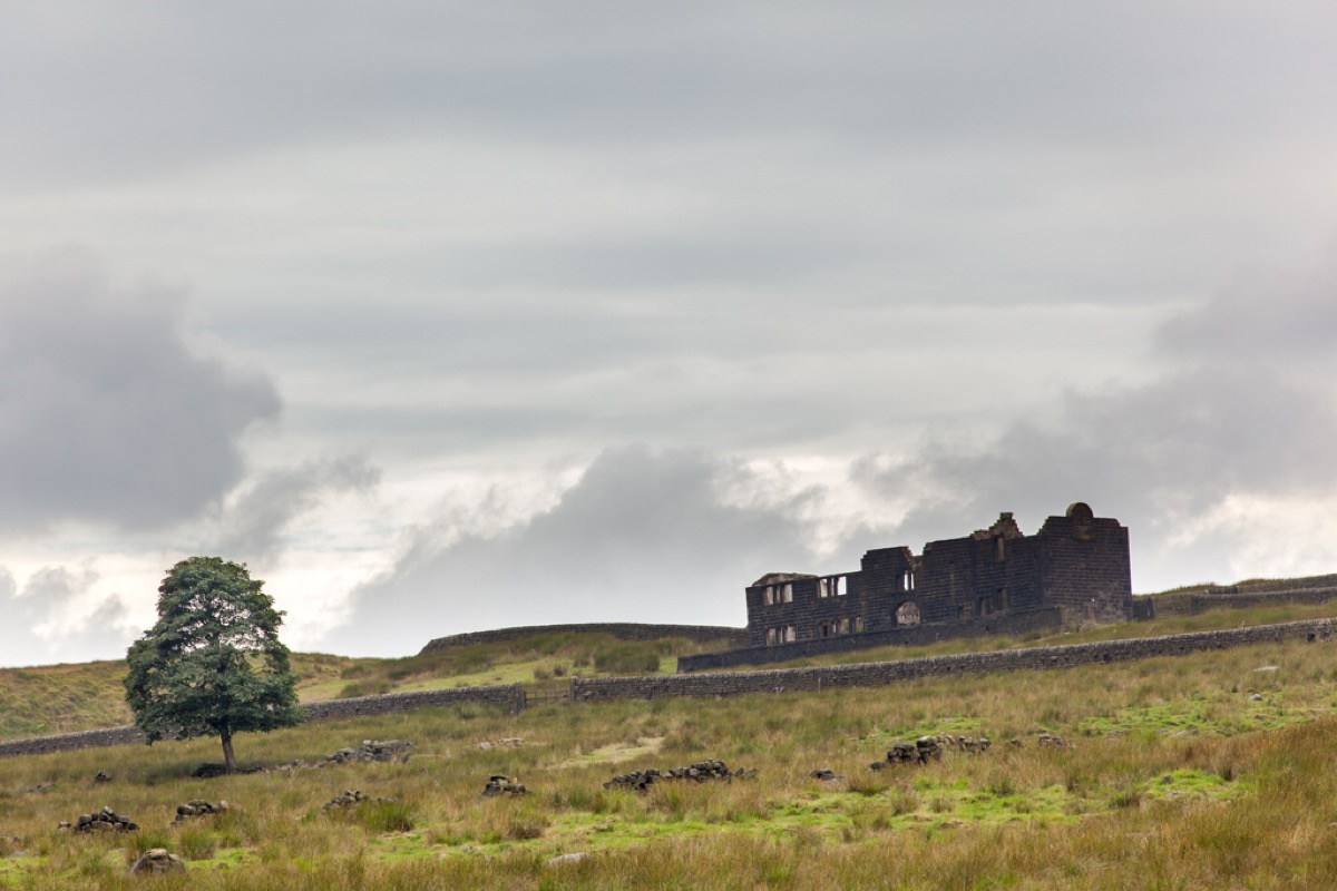 Ruined farmhouse, Withens Clough.