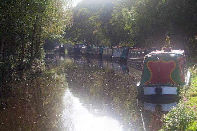 Rochdale Canal, Stubbing Wharf