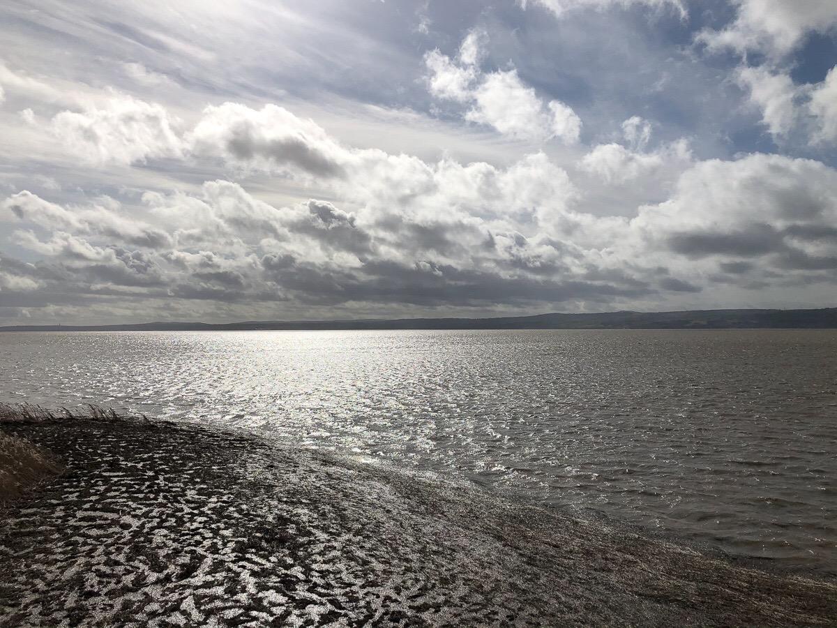 Spring tide, Dee Marshes, Gayton
