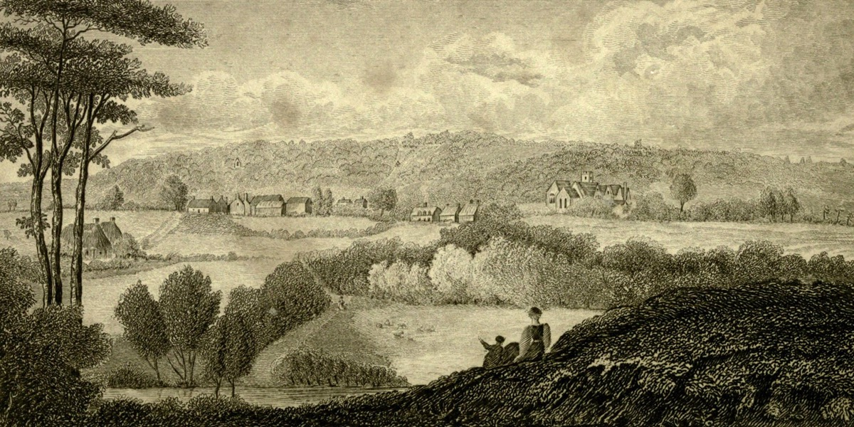 C18 engraving of Selborne