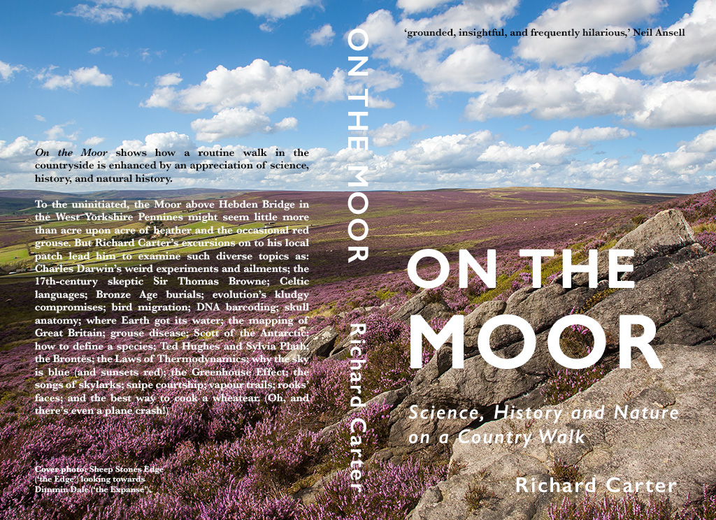 On the Moor covers (front and back)